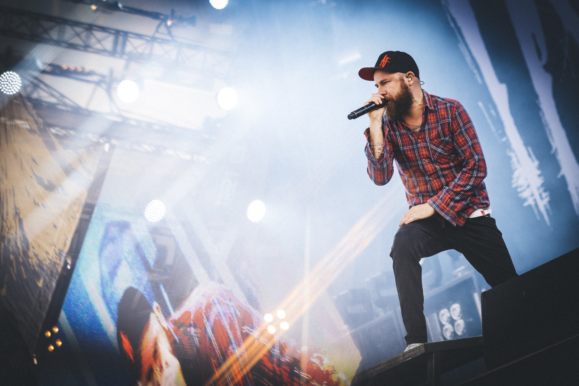 Anders Fridén | In Flames, 2015