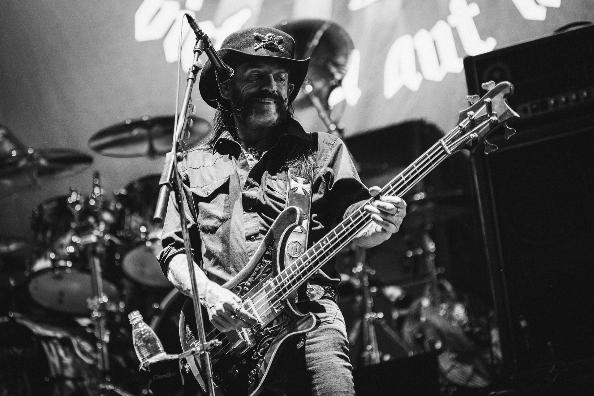 Lemmy Kilmister, Motörhead, 2015