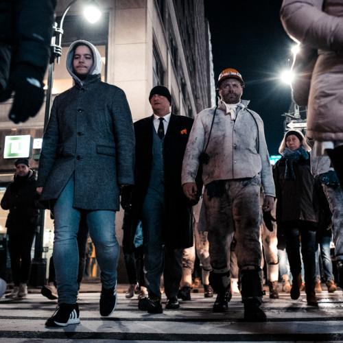 Grubenhelden auf der Fashion Week in New YorkFoto von Tim Kramer, tremark